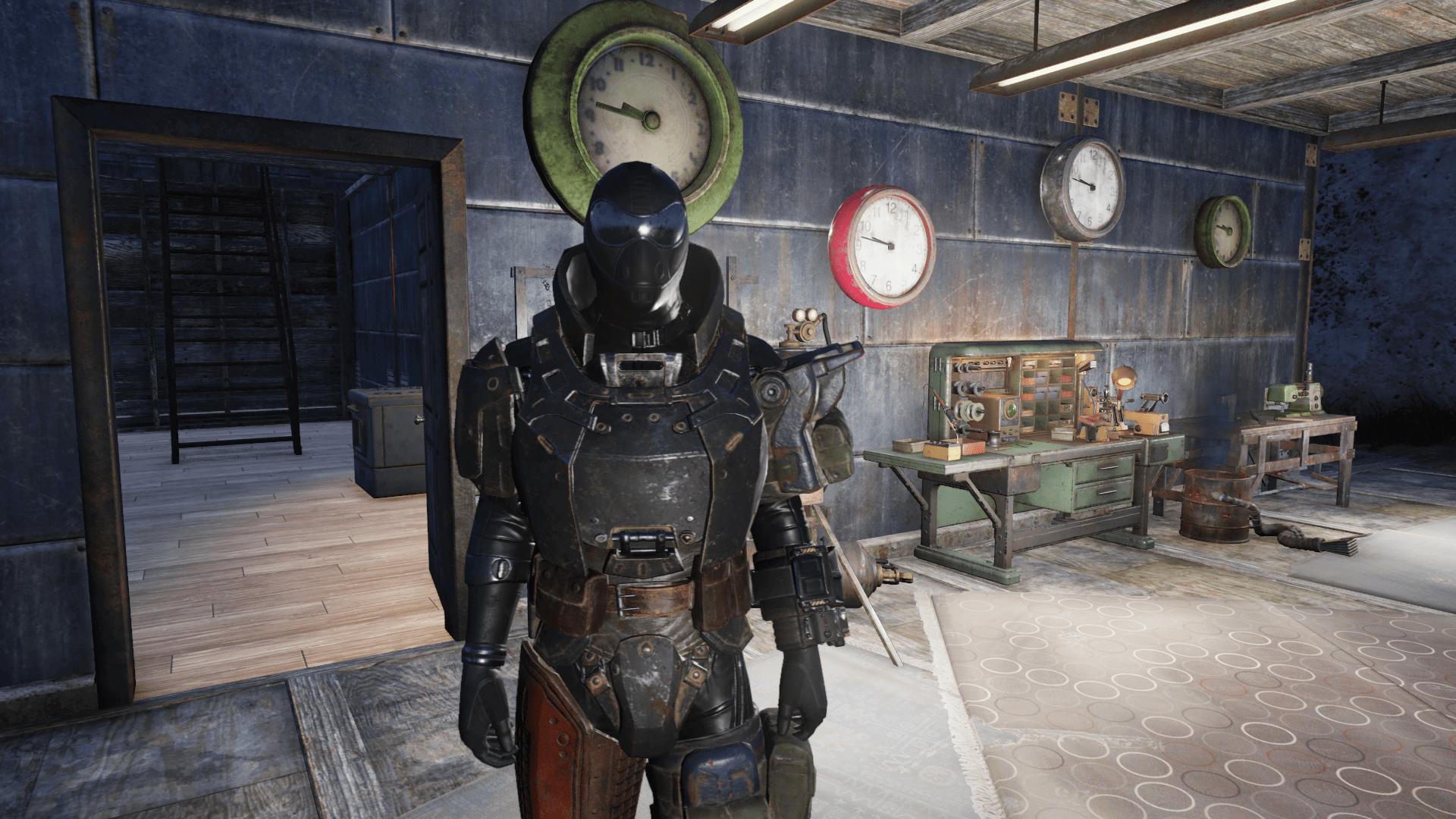 No Combat Armor Star - Fallout 76 Mod download