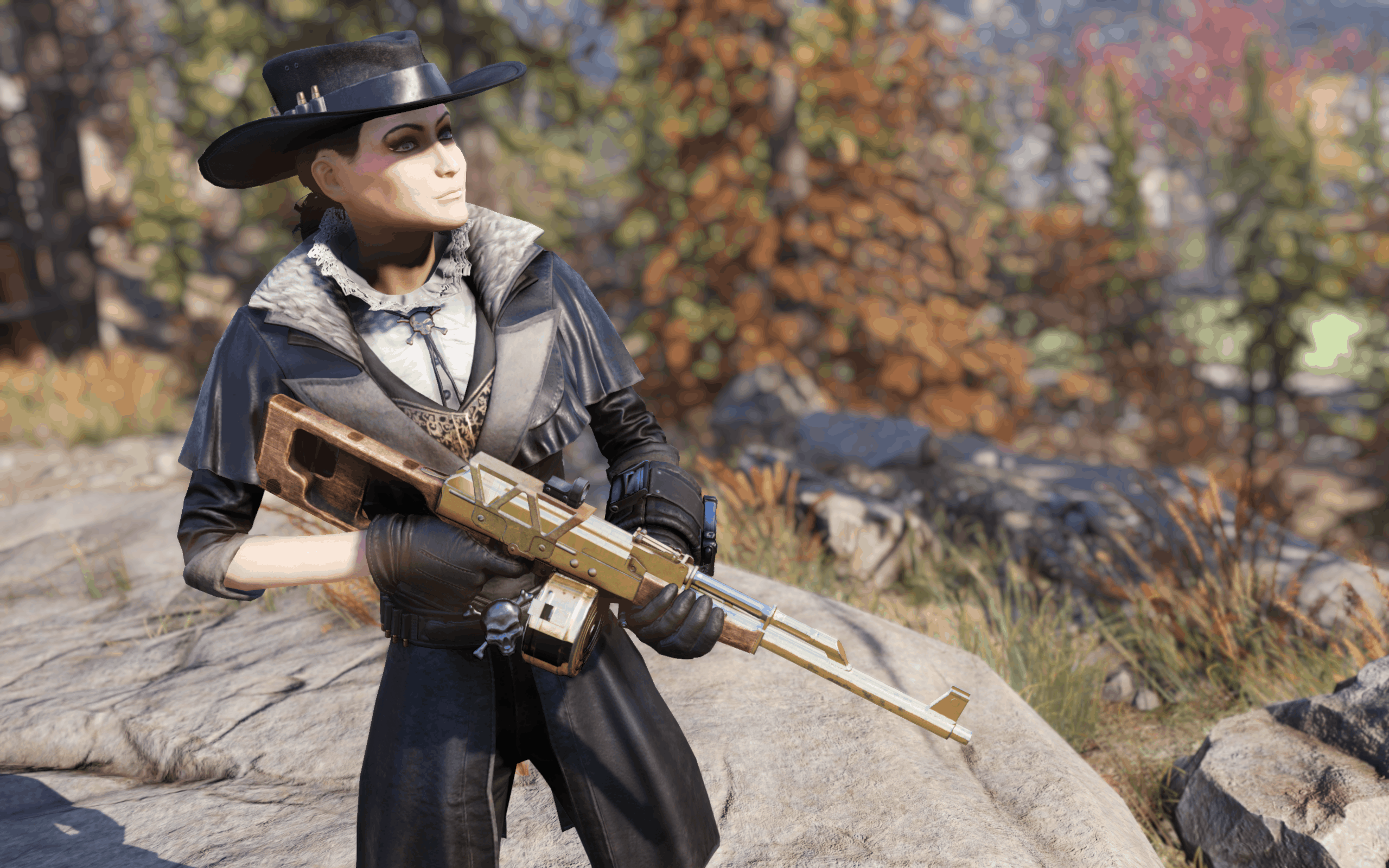 Starlet Sniper - Black Edition - Fallout 76 Mod download
