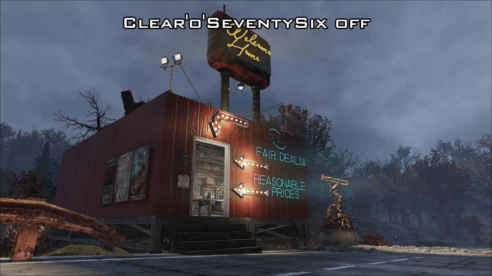 Clear'o'SeventySix - A Vibrant Appalachia - Fallout 76 Mod download